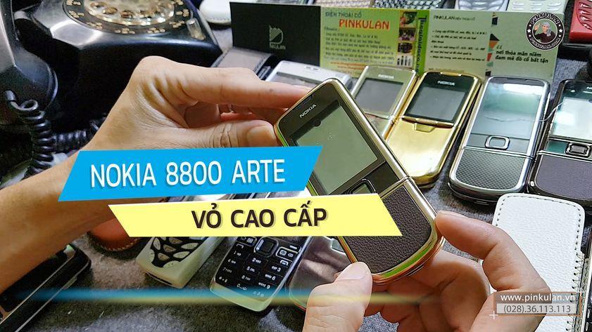 Nokia 8800 Arte vỏ cao cấp siêu đẹp