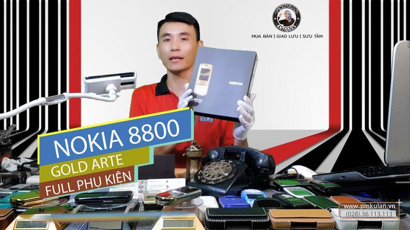 Nokia 8800 Arte Gold nguyên zin Fullbox
