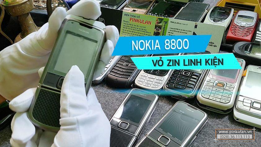 Vỏ linh kiện Nokia 8800 cao cấp