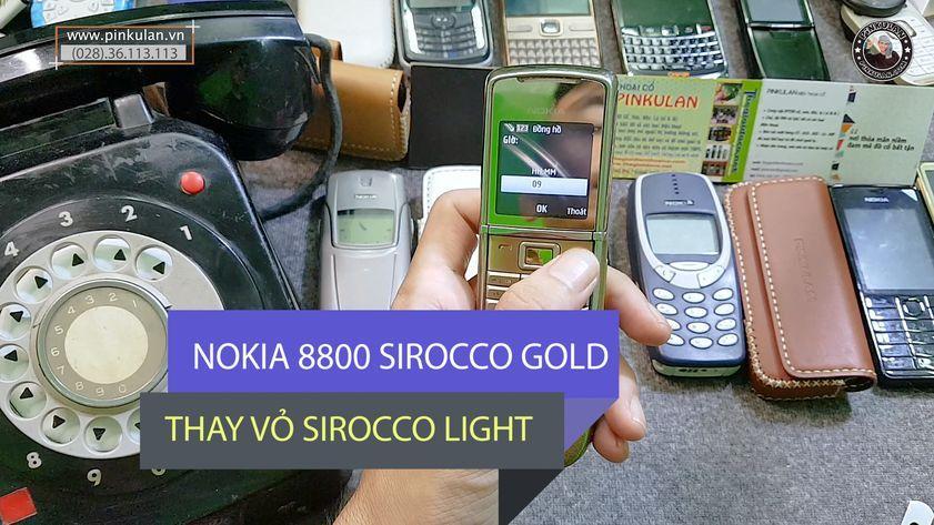 Hướng dẫn thay vỏ Nokia 8800 Sirocco