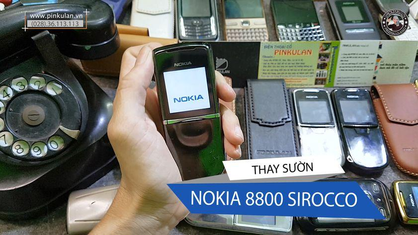 Thay sườn Nokia 8800 Sirocco Black