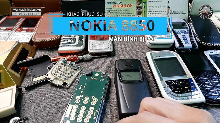 Khắc phục lỗi màn hình Nokia 8850 gold