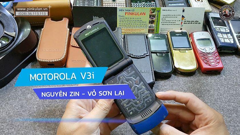 Motorola V3i xanh dương nguyên zin