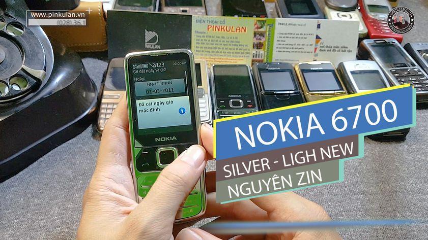 Nokia 6700 Silver nguyên bản