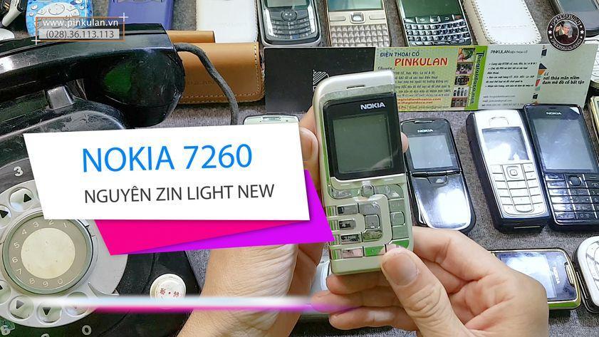 Nokia 7260 chiếc lá nhỏ huyền thoại đẳng cấp