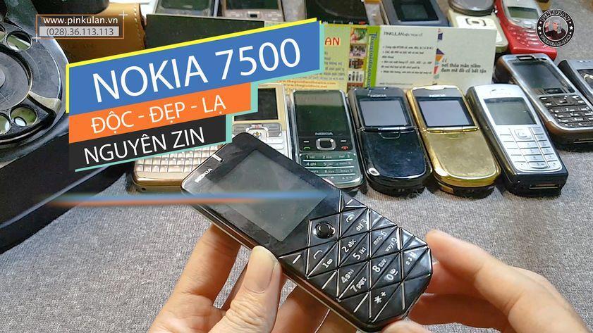 Nokia 7500 nguyên bản nguyên zin