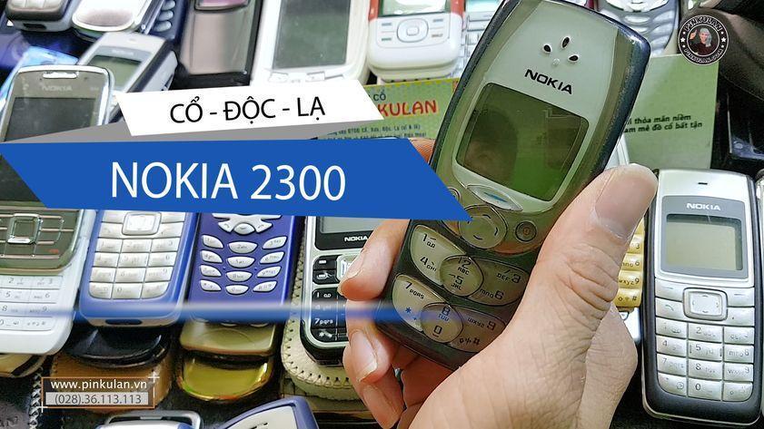 Nokia 2300 cánh bướm huyền thoại một thời