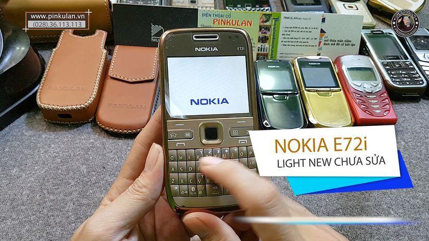 Nokia E72 bàn phím Qwerty huyền thoại