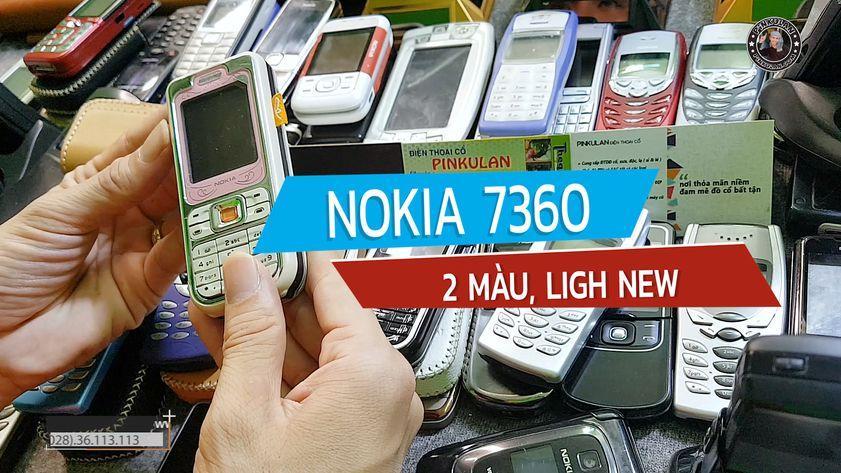 Nokia 7360 hoài cổ sang trọng đẳng cấp