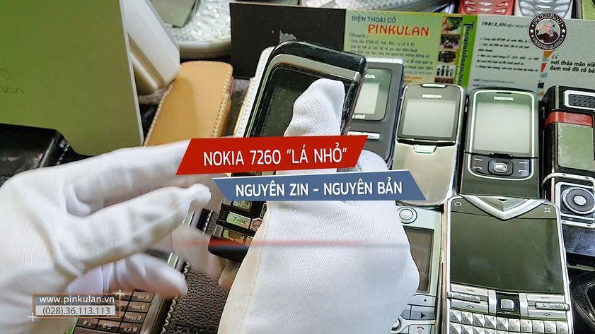 Nokia 7260 điện thoại chiếc lá nhỏ nguyên bản