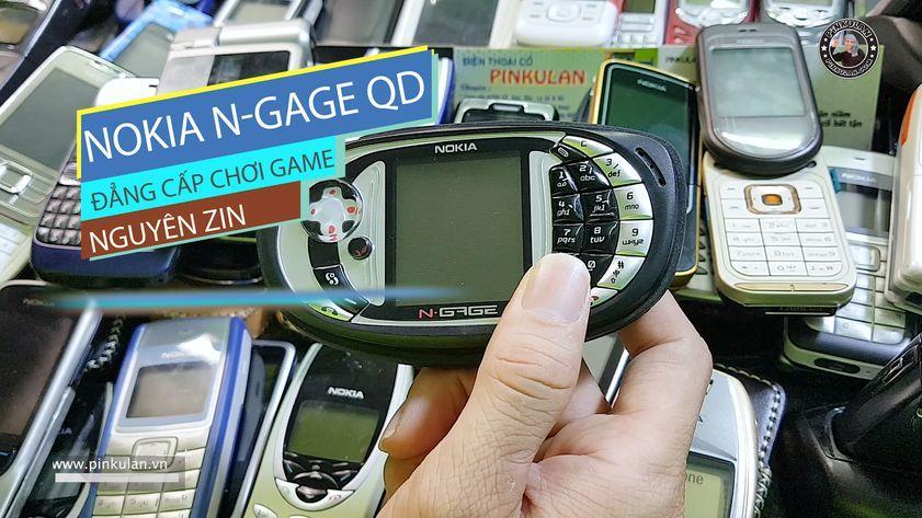 Nokia Ngage QD đẳng cấp chơi game nguyên zin