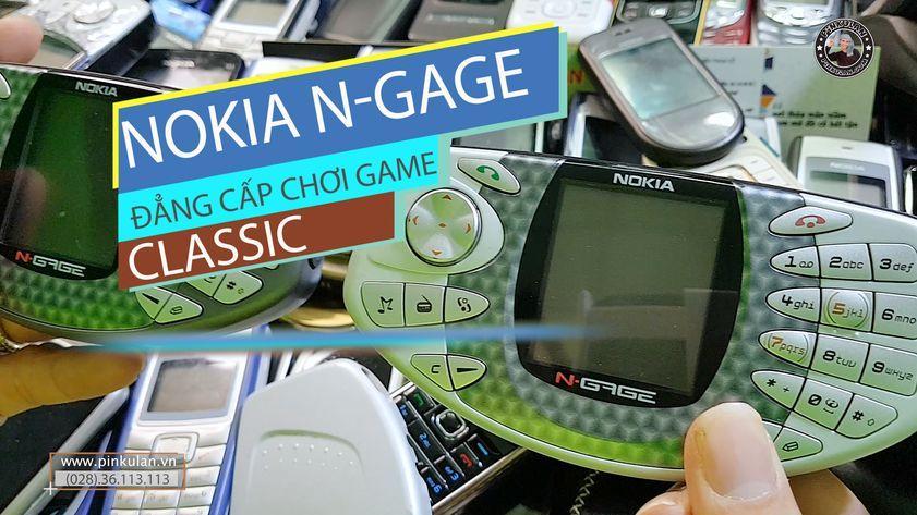Nokia Ngage Classic máy Game huyền thoại