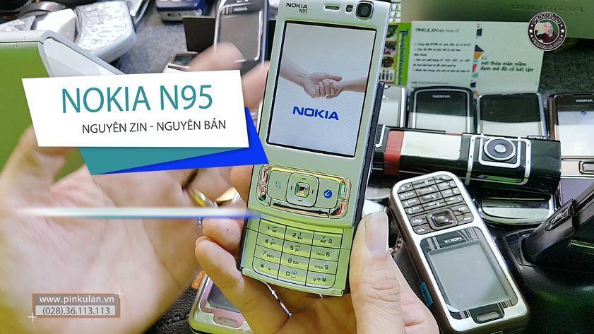 Nokia N95 chiếc điện thoại đẳng cấp sang chảnh