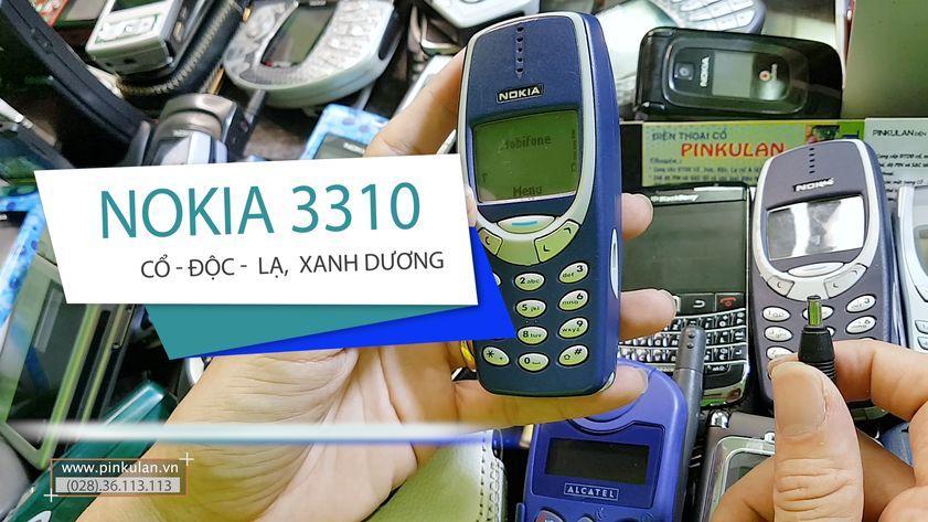 Nokia 3310 xanh dương nguyên bản