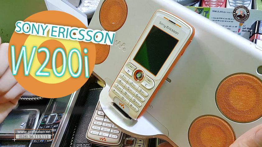 Sony Ericsson W200i chiếc máy nghe nhạc đỉnh cao