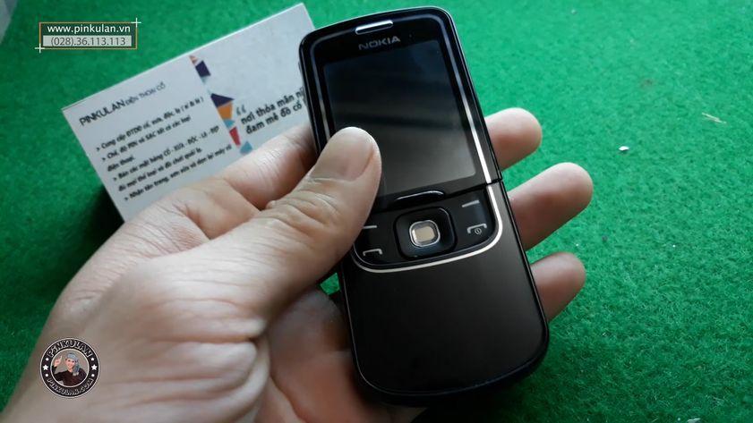 Nokia 8600 Luna vỏ sơn lại màu nguyên bản