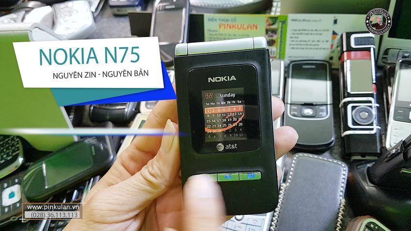 Nokia N75 chiếc máy vỏ sò huyền thoại