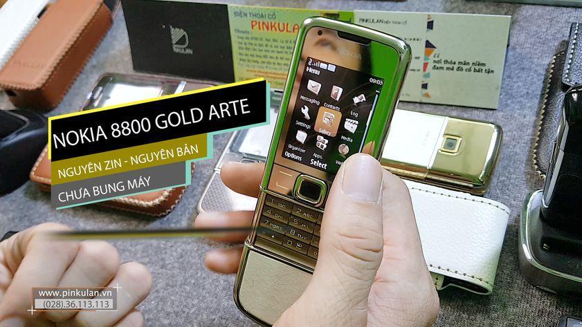 Nokia 8800 Gold Arte nguyên bản chưa bung máy
