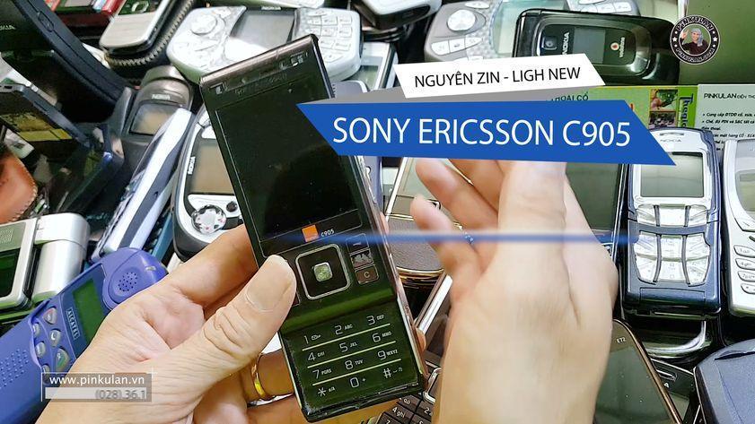 Sony Ericsson C905 chiếc điện thoại Cyber-shot
