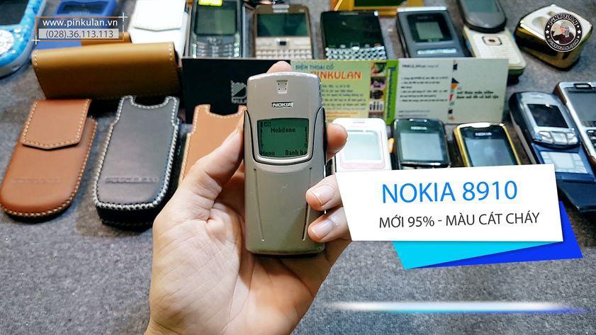 Nokia 8910 màu cát cháy nguyên bản đẹp 95%