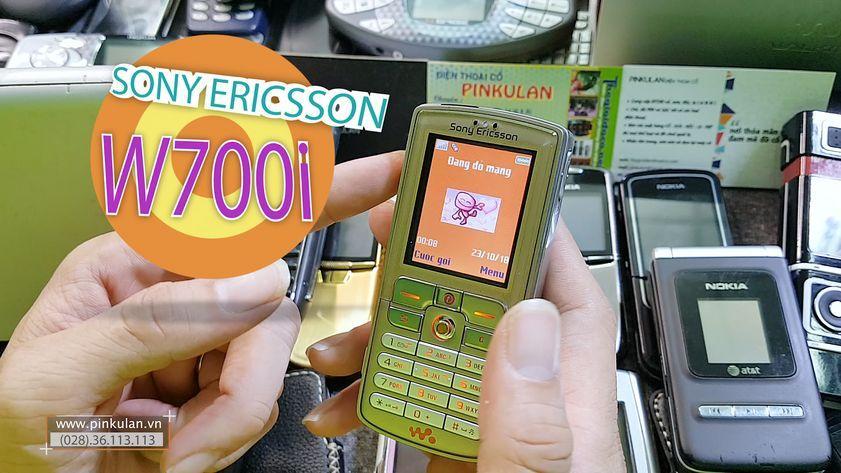 Sony Ericsson W700i huyền thoại