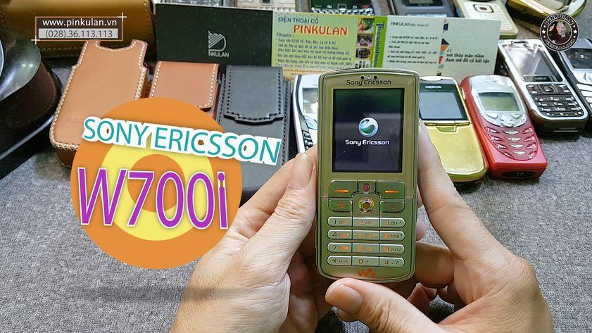 Sony Ericsson W700i Walkman full chức năng