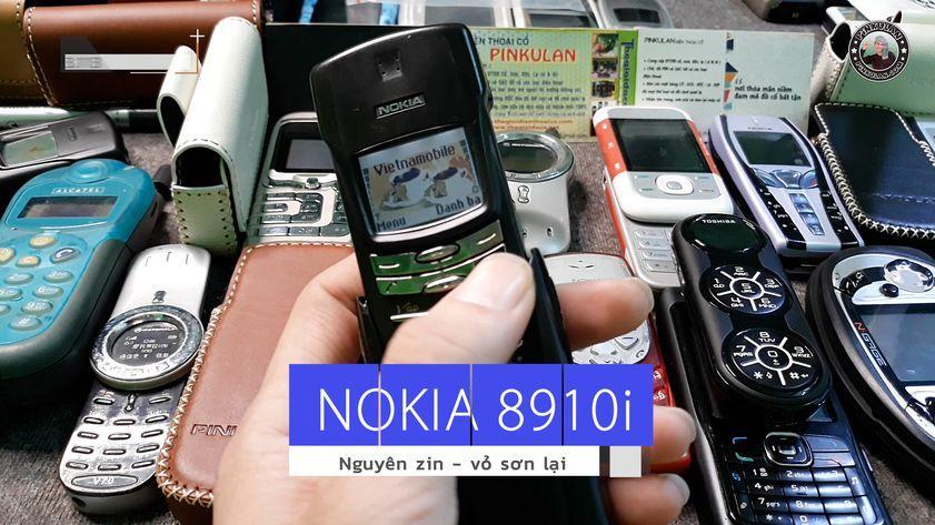 Nokia 8910i chính hãng nguyên zin nguyên bản