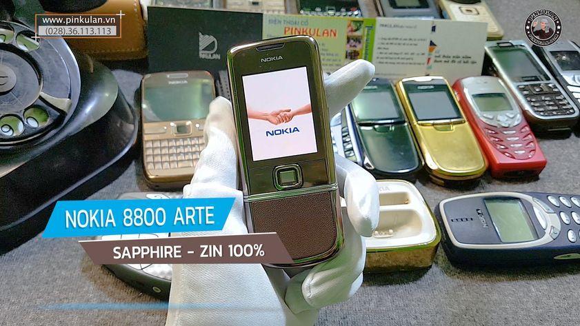 Nokia 8800 Saphire nguyên zin 100%