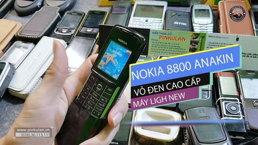 Nokia 8800 Anakin Black main zin nguyên bản