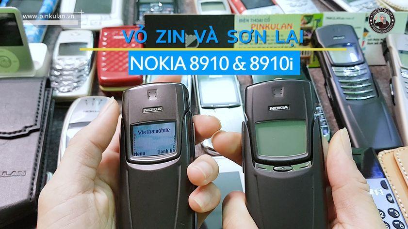 Nokia 8910 vỏ zin và vỏ sơn lại cực đẹp