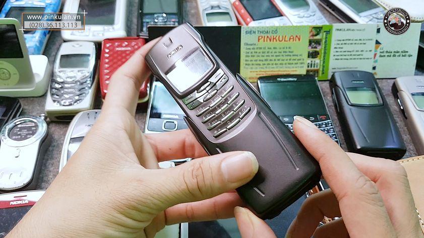Thay micro Nokia 8910i chính hãng