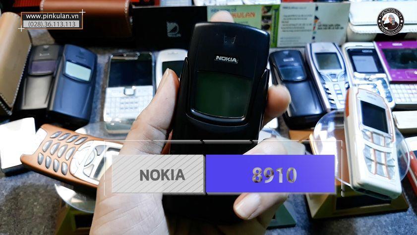 Nokia 8910 màu đen nguyên bản