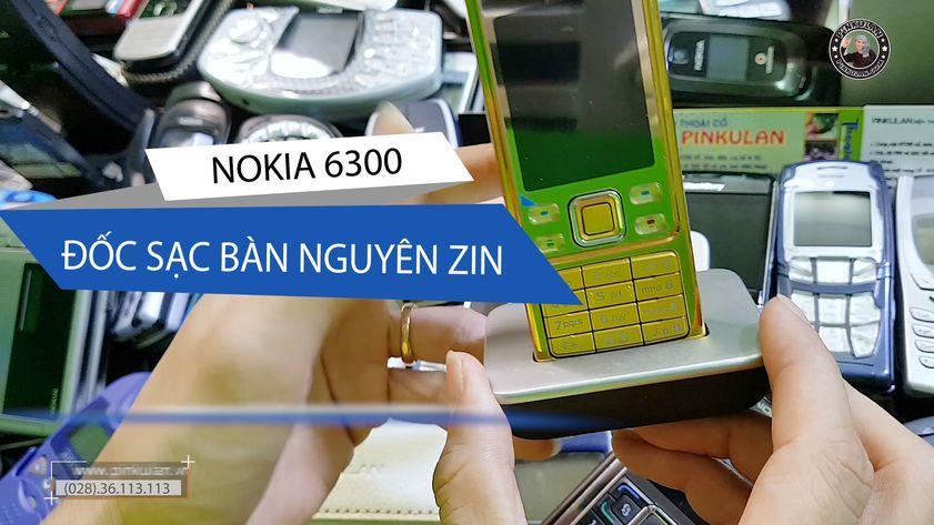 Đốc sạc bàn dành cho Nokia 6300 nguyên zin