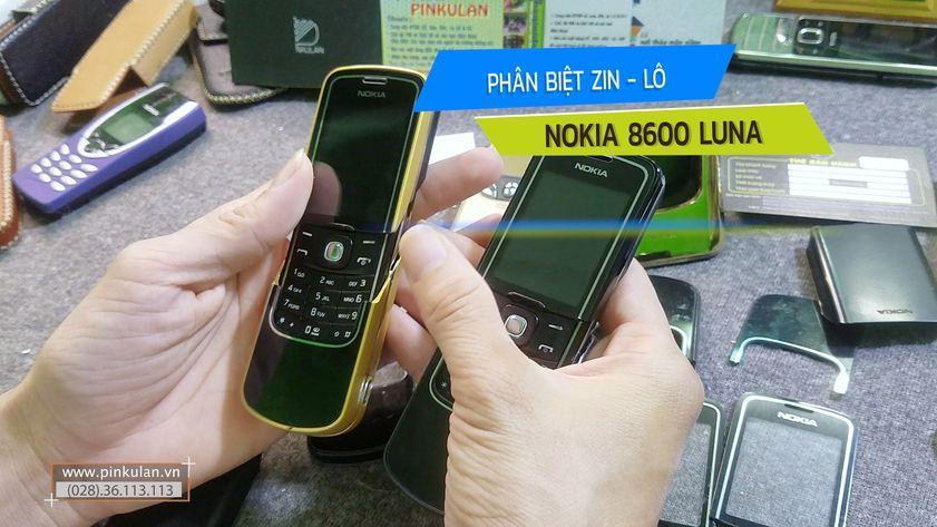 Phân biệt Nokia 8600 Luna zin và lô