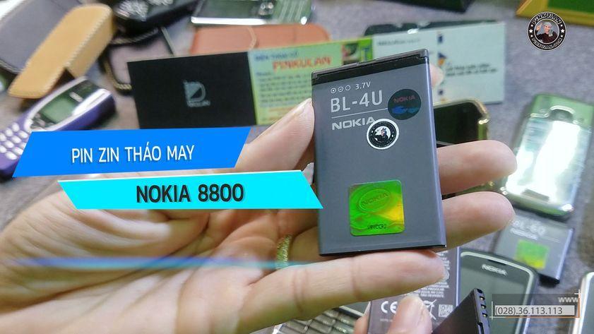 Pin Nokia 8800 nguyên zin tháo máy