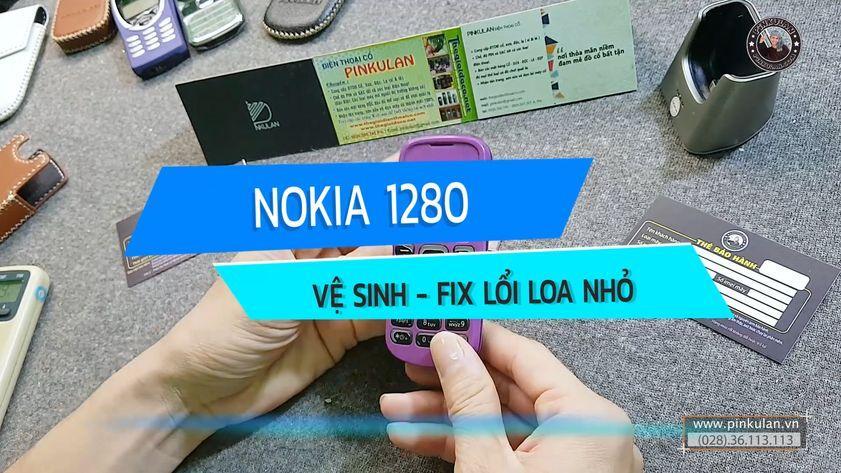 Fix lỗi loa nhỏ trên Nokia 1280
