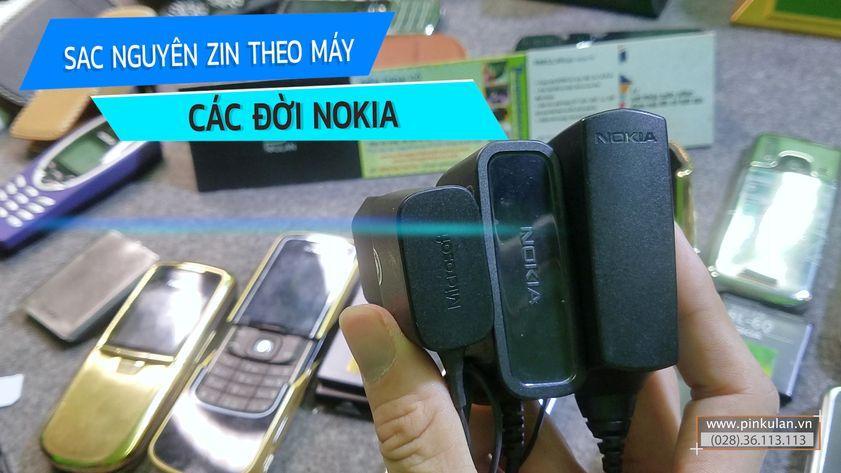 Sạc zin Nokia theo máy các đời