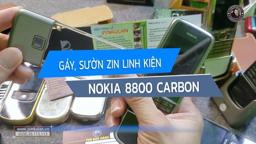 Gáy sườn Nokia 8800 Carbon zin linh kiện