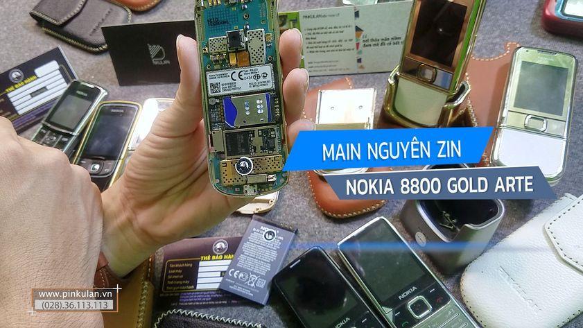 Main Nokia 8800 Gold Arte nguyên zin