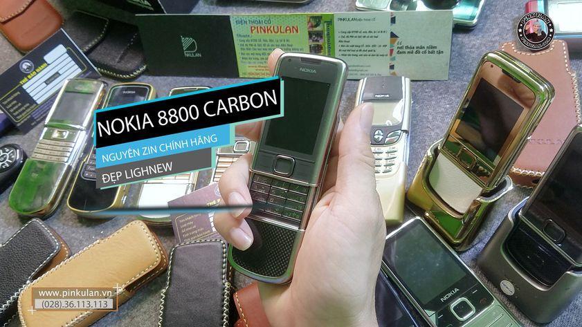 Nokia 8800 Carbon zin nguyên bản