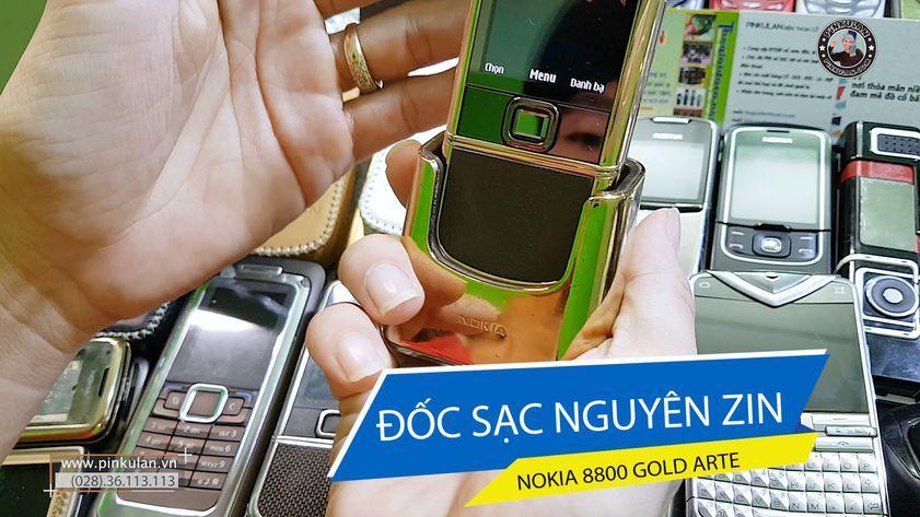 Đốc sạc Nokia 8800 Gold Arte nguyên zin