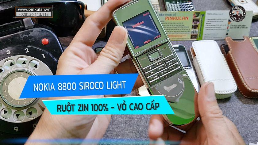 Nokia 8800 Sirocco Light nguyên zin vỏ cao cấp