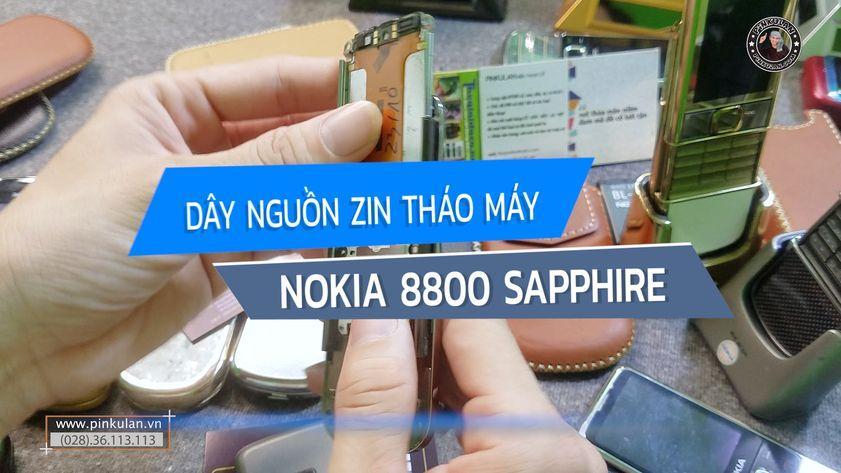 Dây nguồn Nokia 8800 Sapphire zin tháo máy