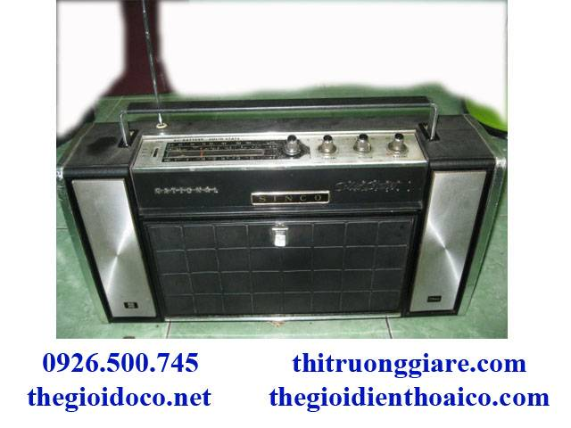 Radio NaTional SG-765 Sinco Đẹp Long Lanh
