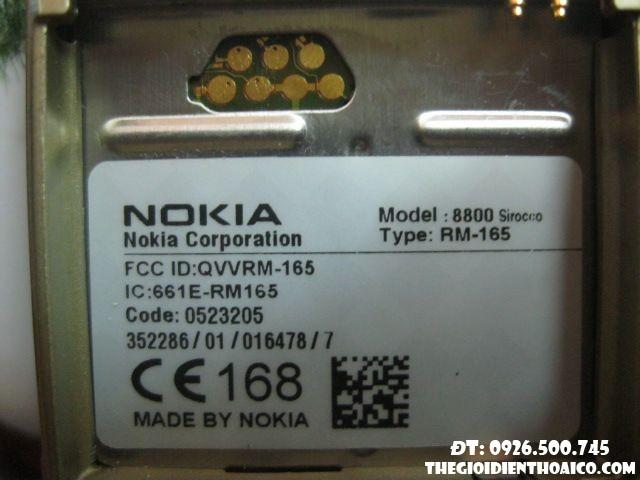 main Nokia 8800 SIrocco
