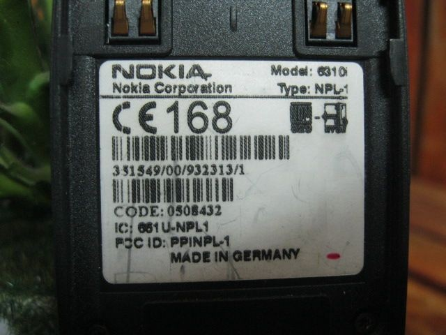 IMEI Nokia 6310i