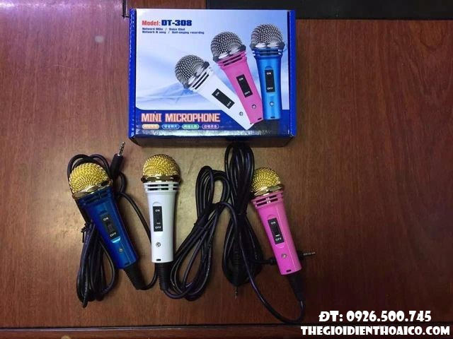 pin Mini Microphone DT 308