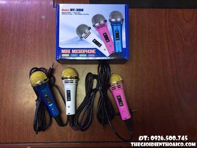 pin Mini Microphone DT 308