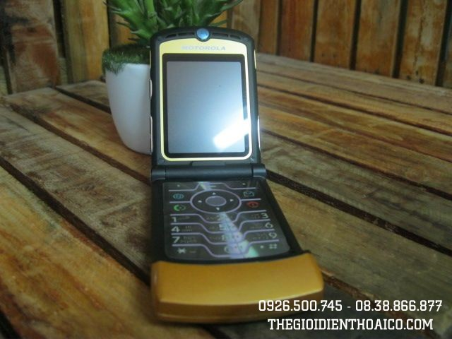 Motorola V3 Gold MS 1648